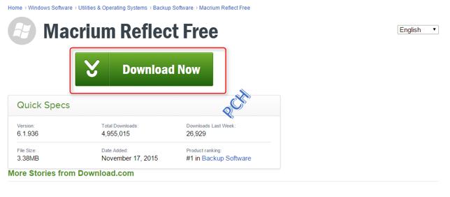 Macrium Reflect Free Installer Download